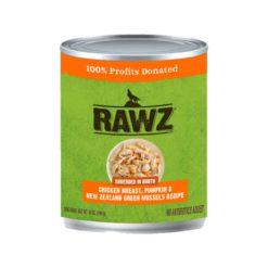 Rawz Shredded Can: Chicken Breast, Pumpkin, and New Zealand Green Mussels Recipe