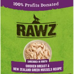 Rawz Shredded Can: Chicken Breast and New Zealand Mussels
