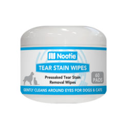Nootie Tear Stain Wipes for Dogs & Cats