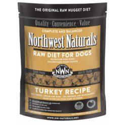 Northwest Naturals Turkey Frozen Dog Food